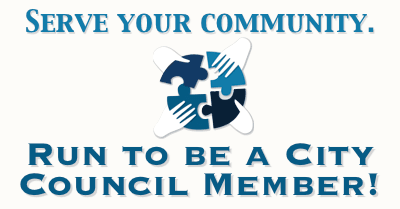 Run to be a City Council Member