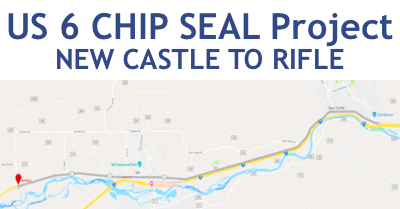 US 6 CHIP SEAL Project