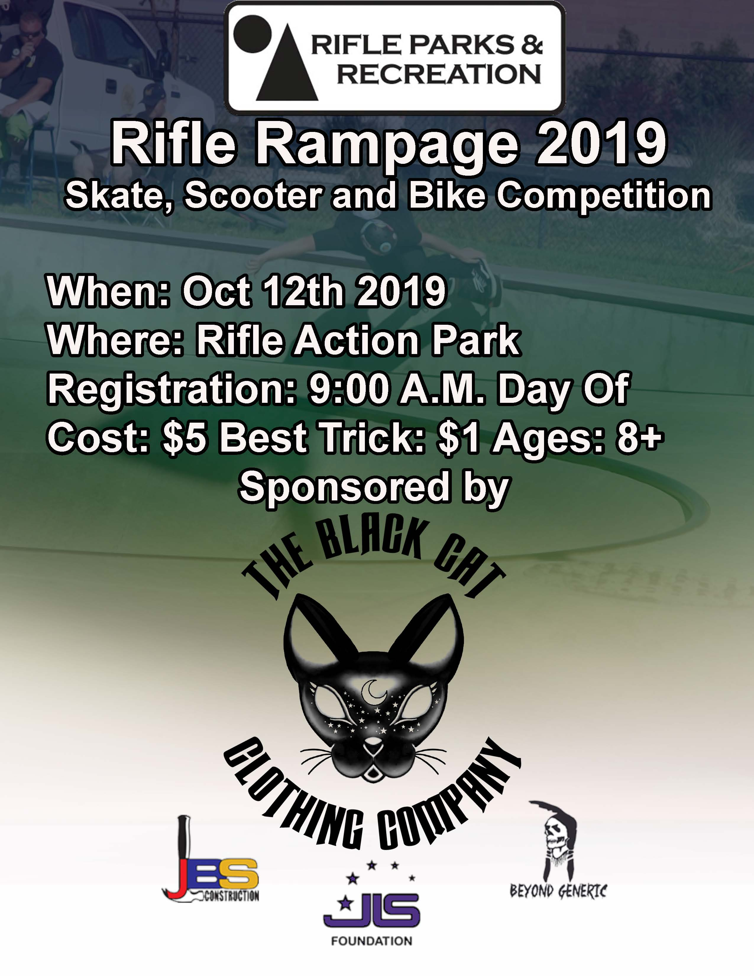 Rampage Flyer 2019