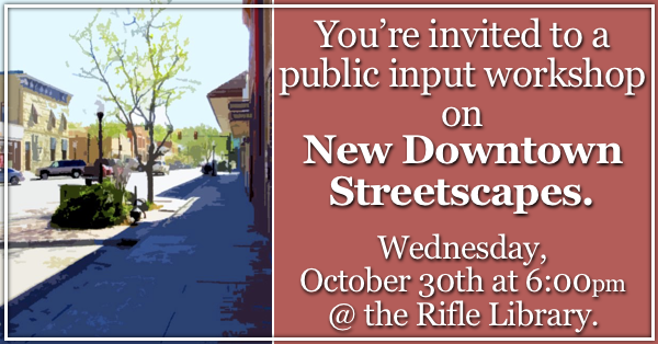 Downtown Streetscapes Public Meeting