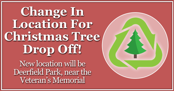 Christmas Tree Drop Off Location