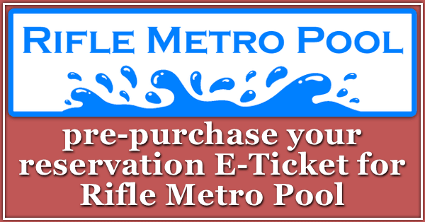 reservation tickets for Rifle Metro Pool