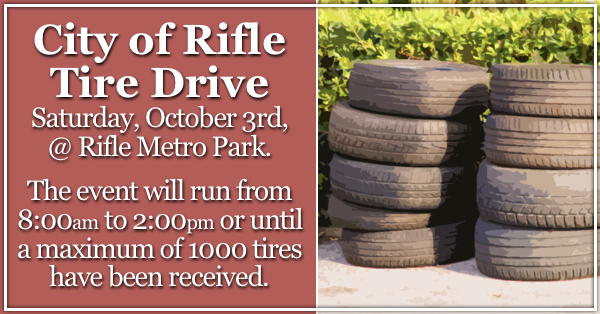 City of Rifle Tire Drive