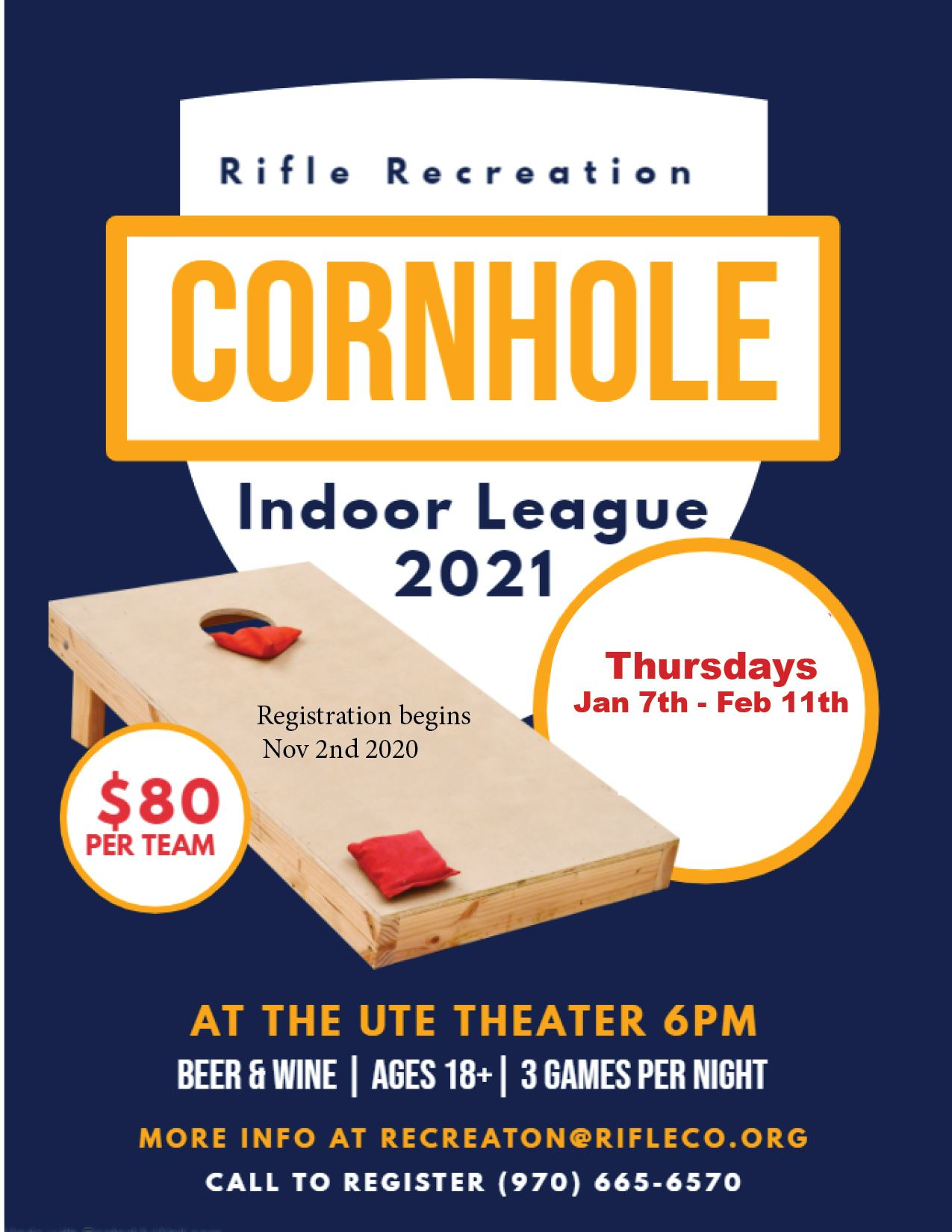 Cornhole Winter 2021
