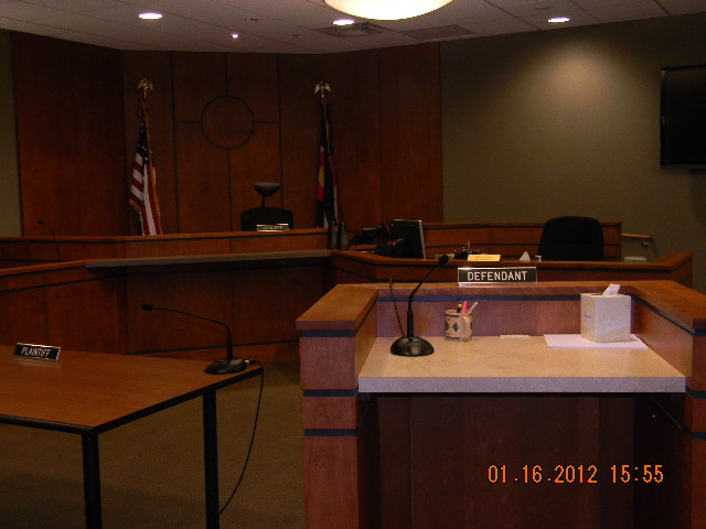 RIFLE MUNICIPAL COURT ROOM
